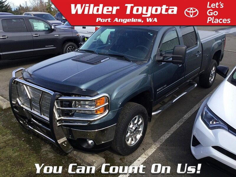 2012 GMC Sierra 2500 4WD SLT Port Angeles WA