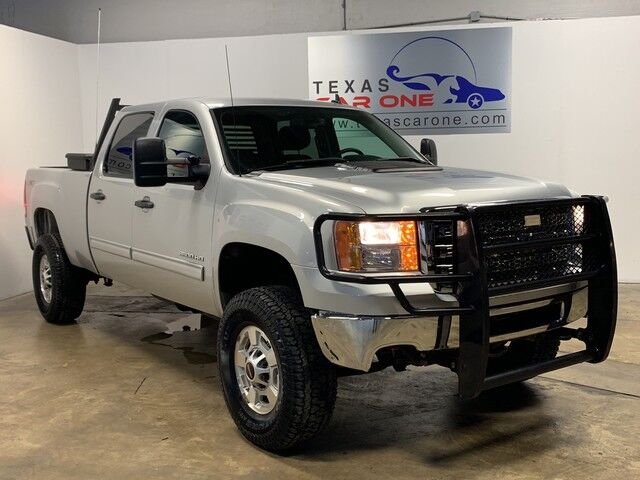 2012 GMC Sierra 2500HD SLE CREW CAB 4WD AUTOMATIC TOWING PACKAGE TRAILER HITCH GRILLE G Carrollton TX