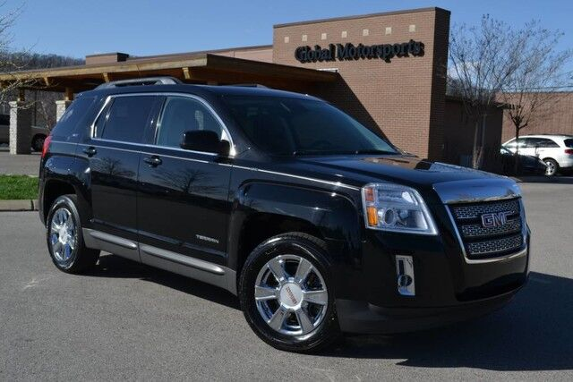 2012 GMC Terrain SLT-1/Heated Leather Seats/Rear Cam/Color MMI Screen/Sunroof/Tow Pkg/Pioneer Sound/Bluetooth/32 MPG Nashville TN
