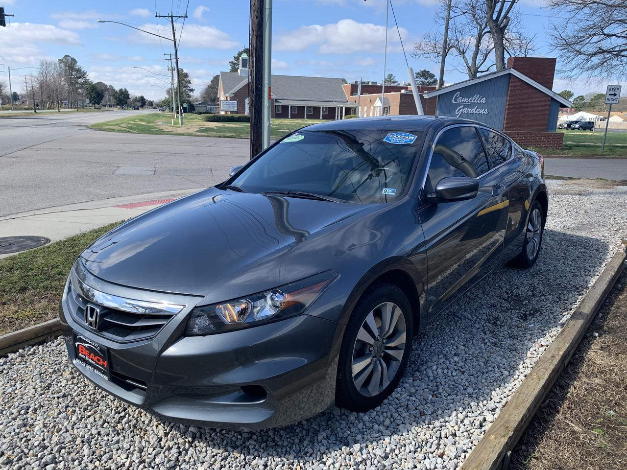 2012 HONDA ACCORD EX-L, WARRANTY, LEATHER, SUNROOF, HEATED SEATS, SATELLITE RADIO, AUX/USB PORT, LOW MILES! Norfolk VA