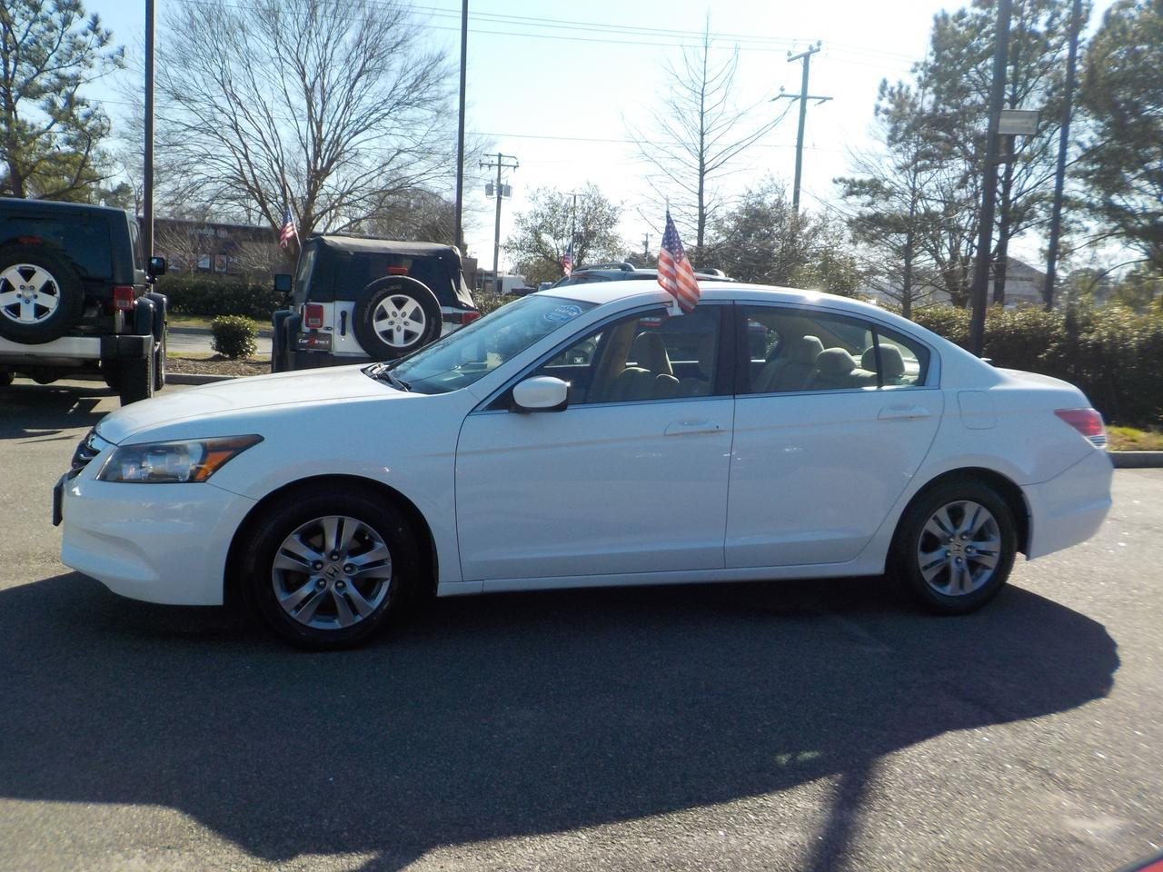 2012 HONDA ACCORD LX-P FWD, VERY CLEAN, WELL MAINTAINED, CLEAN CARFAX, ONLY 47K MILES! Virginia Beach VA