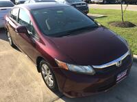 HONDA CIVIC LX LX 2012