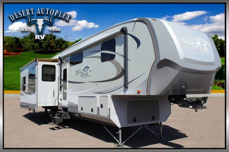 2012 Highland Ridge Open Range R398RLS Quad Slide 5th Wheel RV Mesa AZ