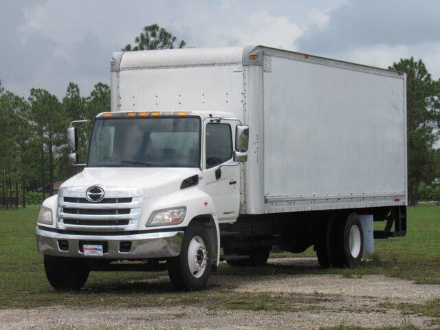 2012 Hino 268 24' Dry Freight Box with Lift Gate Homestead FL
