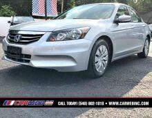 2012_Honda_Accord Sdn_LX_ Fredricksburg VA