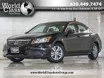 2012 Honda Accord Sdn SE LEATHER ONE OWNER