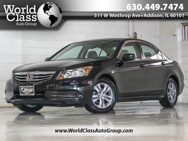 2012 Honda Accord Sdn SE LEATHER ONE OWNER Chicago IL