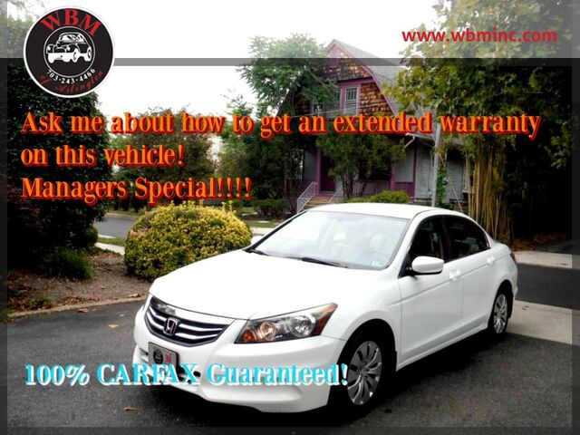 2012 Honda Accord Sedan Arlington VA