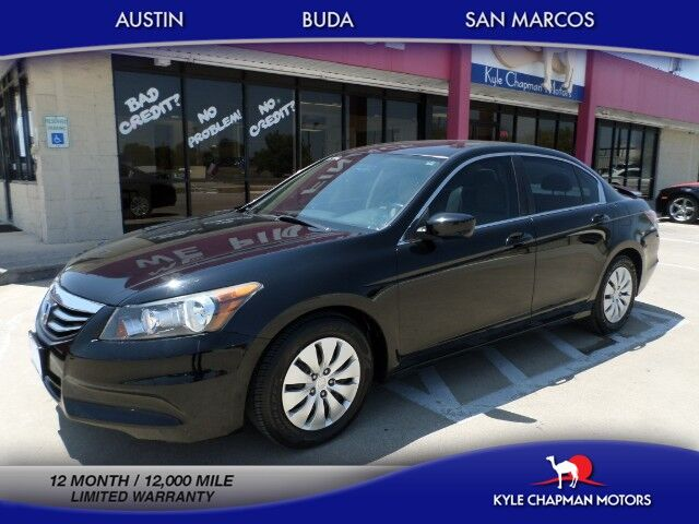 2012 Honda Accord Sedan LX-CD-LOW MILES-CLOTH