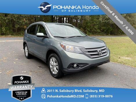 2012_Honda_CR-V_EX-L ** Certified 6 Month / 6,000 **_ Salisbury MD