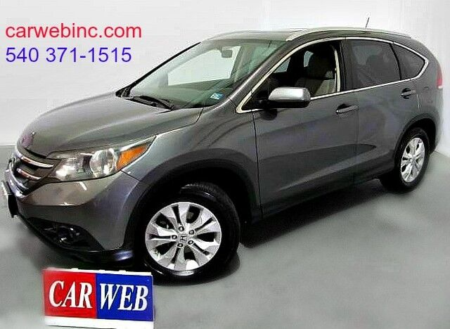 2012 Honda CR-V EX-L 2WD 5-Speed AT Fredricksburg VA