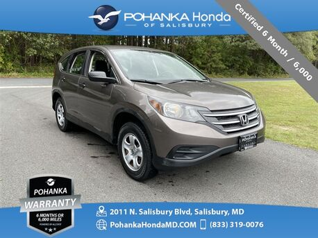 2012_Honda_CR-V_LX ** Certified 6 Month / 6,000 **_ Salisbury MD