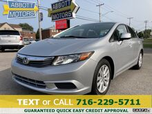 2012_Honda_Civic_EX Auto 4Dr Low Miles_ Buffalo NY