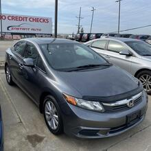 2012_Honda_Civic_EX Sedan 5-Speed AT_ Kansas City MO