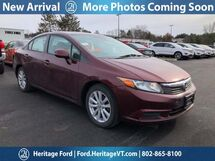 2012 Honda Civic EX South Burlington VT