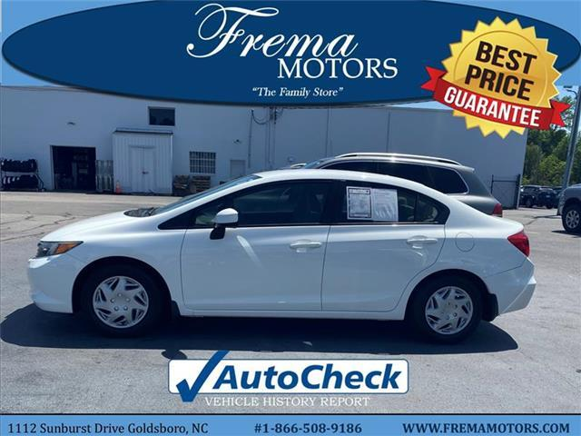 2012 Honda Civic LX Sedan Goldsboro NC