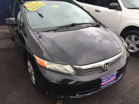 2012 Honda Civic LX Sedan 5-Speed AT Austin TX