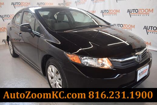 2012 Honda Civic LX Sedan 5-Speed AT Kansas City MO