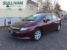 2012_Honda_Civic_LX Sedan 5-Speed AT_ Woodbine NJ