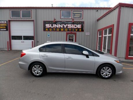 2012 Honda Civic LX Sedan 5-Speed MT Idaho Falls ID