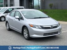 2012 Honda Civic LX South Burlington VT