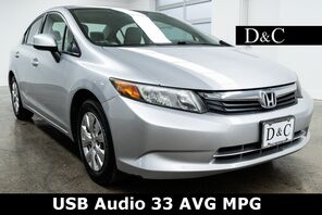 2012_Honda_Civic_LX USB Audio 33 AVG MPG_ Portland OR