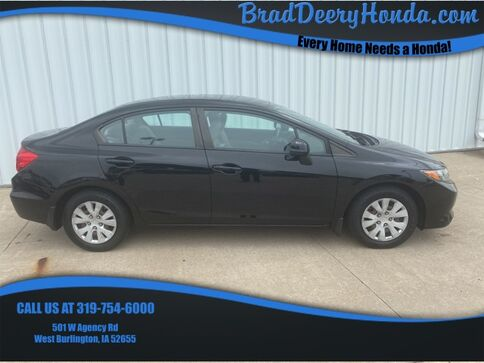2012_Honda_Civic_LX_ West Burlington IA