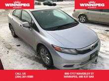 2012_Honda_Civic Sdn_EX/ACCIDENT FREE/One owner_ Winnipeg MB