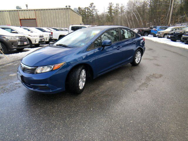2012 Honda Civic Sdn EX Claremont NH