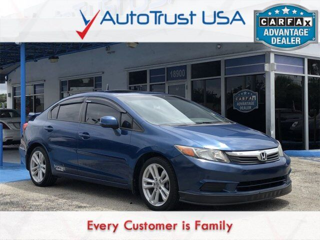2012 Honda Civic Sdn EX Navigation Miami FL