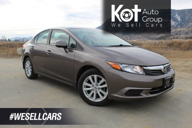 2012 Honda Civic Sdn EX, ONE OWNER, Sunroof Kelowna BC