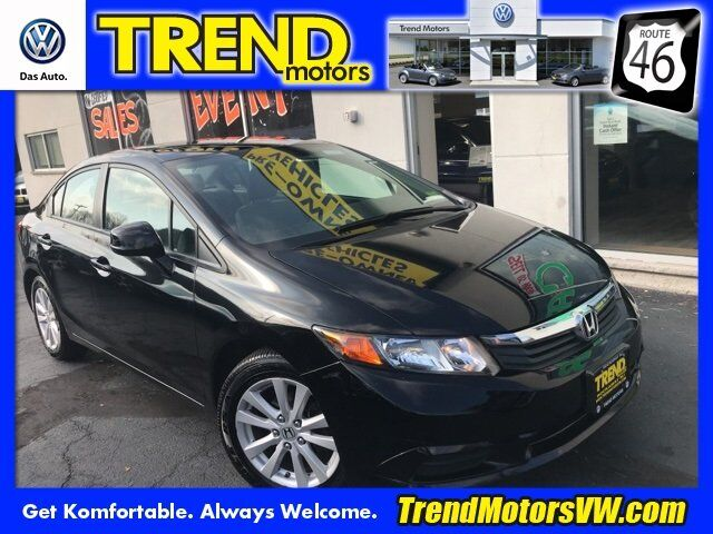 2012 Honda Civic Sdn EX Morris County NJ