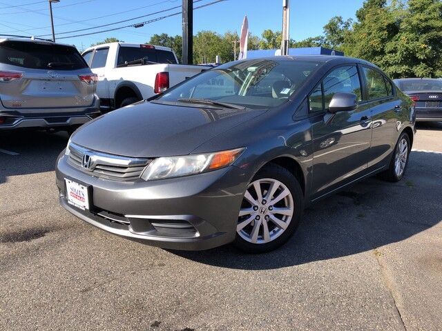 2012 Honda Civic Sdn EX Worcester MA