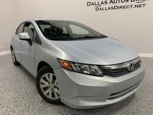 2012_Honda_Civic Sdn_LX_ Carrollton  TX