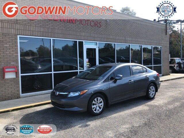 2012 Honda Civic Sdn LX Columbia SC