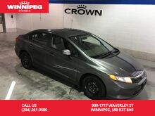 2012_Honda_Civic Sdn_LX/Cruise/Air/power windows/#1 selling car in Canada_ Winnipeg MB