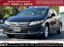 2012_Honda_Civic Sdn_LX_ Old Saybrook CT