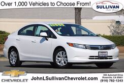 2012_Honda_Civic Sdn_LX_ Roseville CA