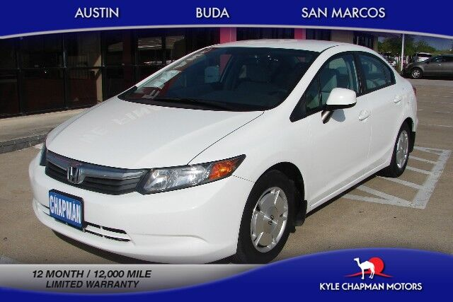 2012 Honda Civic Sedan HF- CLOTH-CD-ALLOYS-GAS SAVER
