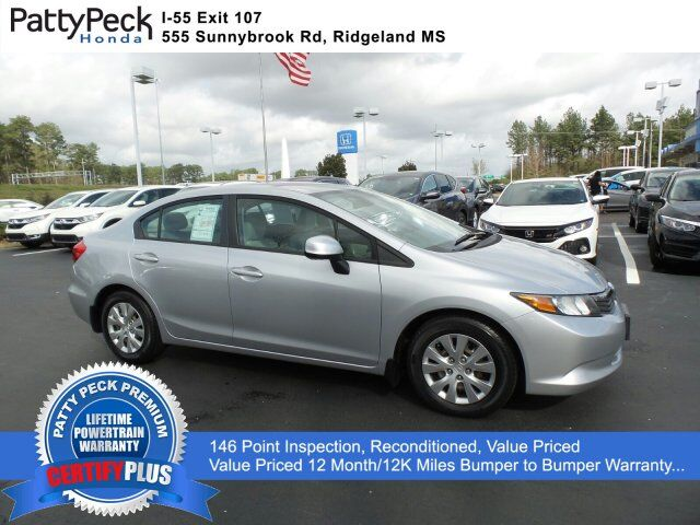 2012 Honda Civic Sedan LX FWD Jackson MS