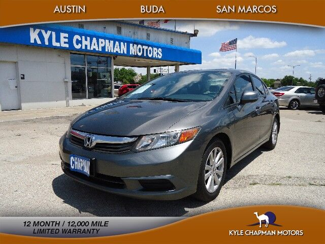 2012 Honda Civic Sedan SUN ROOF-BLUETOOTH-CD-AUX