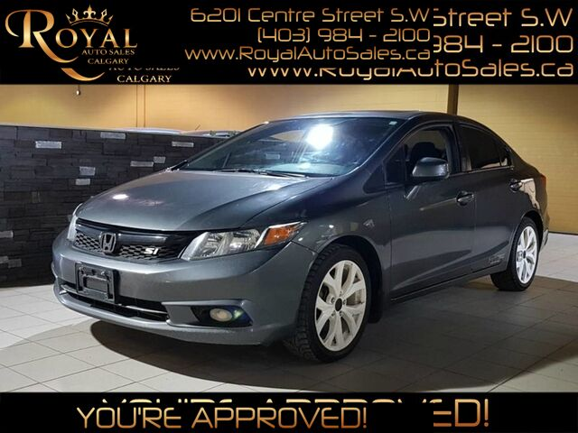 2012_Honda_Civic_Si w/ NAVIGATION, SUNROOF, BLUETOOTH_ Calgary AB