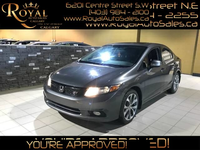 2012_Honda_Civic_Si w/ POWER MOONROOF, HEATED SEATS, NAVIGATION_ Calgary AB