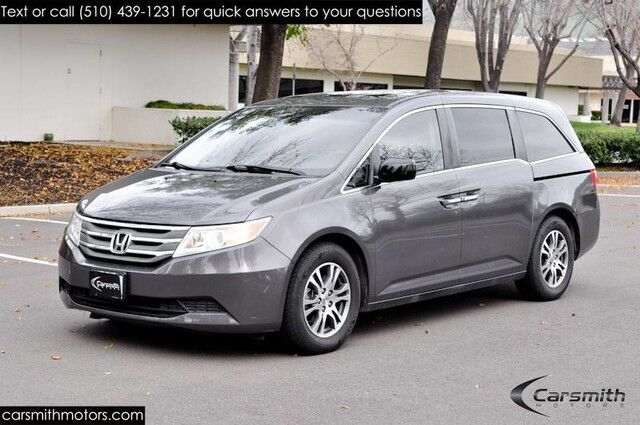2012 Honda Odyssey EX-L with Rear DVD and Recently Serviced One Owner and CA Car/ Great for a family!!!! Fremont CA