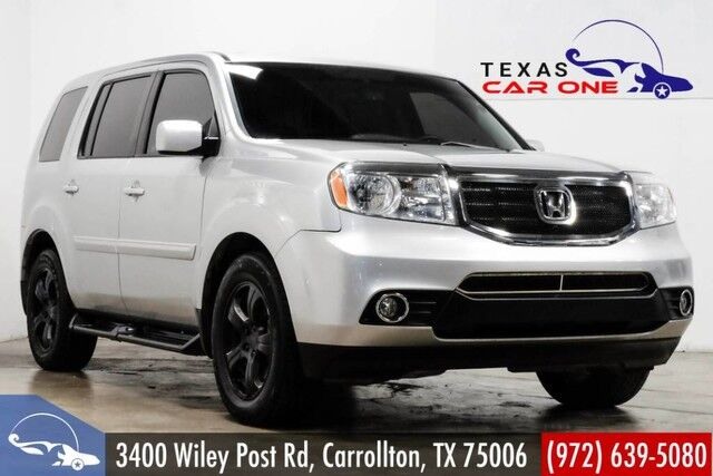 2012 Honda Pilot EX-L 4WD SUNROOF LEATHER HEATED SEATS REAR CAMERA BLUETOOTH Carrollton TX