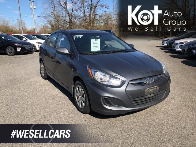 2012 Hyundai ACCENT GL! NO ACCIDENTS! 1 OWNER! GREAT FUEL ECONOMY! BEAUTY UNIT! Kelowna BC