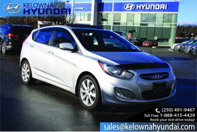 2012 Hyundai ACCENT GLS Heated Front Seats, sunroof, Hands free Bluetooth Penticton BC