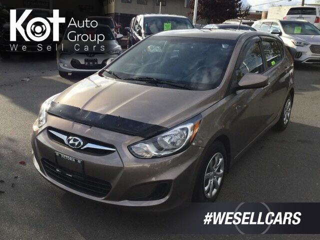 2012 Hyundai Accent GL Hatchback Low Km's! Great On Gas Victoria BC
