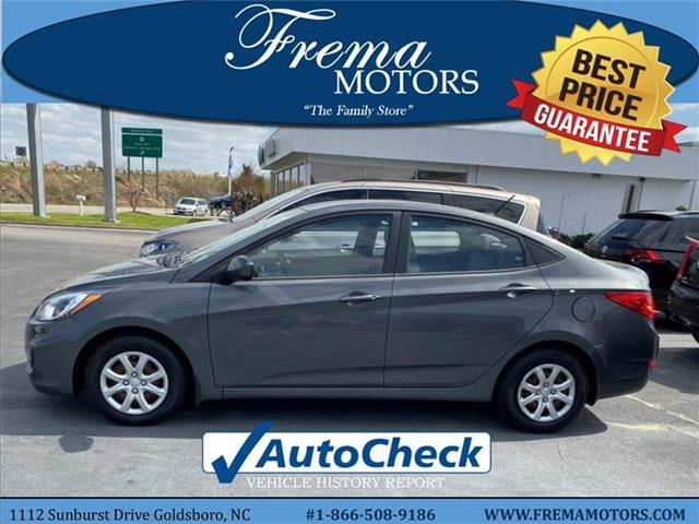 2012 Hyundai Accent GLS Sedan Goldsboro NC