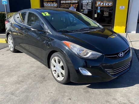 2012 Hyundai Elantra 4d Sedan Limited Albuquerque NM
